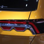 VW CrossBlue Coupe taillight