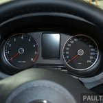 VW Polo Malaysia instrument cluster