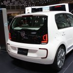 VW Twin Up! rear three quarters at 2013 Tokyo Motor Show