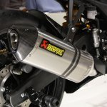 Yamaha R25 exhaust