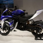 Yamaha R25 left side