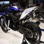 Yamaha R25 rear three quarters