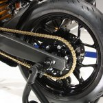 Yamaha R25 rear wheel