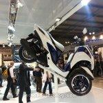 Yamaha Tricity side view