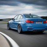 2014 BMW M3 leaked driving