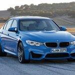 2014 BMW M3 leaked front quarter