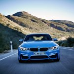 2014 BMW M3 leaked front