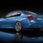 2014 BMW M3 leaked rear three quarter