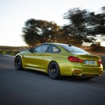 2014 BMW M4 leaked driving 2