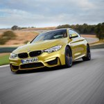 2014 BMW M4 leaked driving