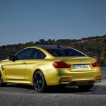 2014 BMW M4 leaked rear quarter