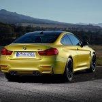 2014 BMW M4 leaked rear