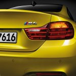 2014 BMW M4 leaked taillight
