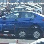 2014 Honda City Thailand spied side 3