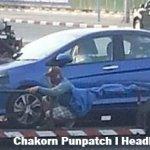 2014 Honda City Thailand spied