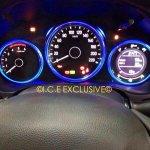 2014 Honda City VMT Diesel Spied cluster