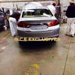 2014 Honda City VMT Diesel Spied rear