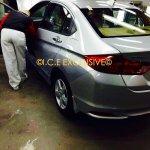 2014 Honda City VMT Diesel Spied taillight