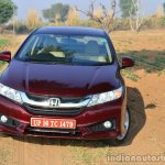 2014 Honda City drive front quarter red