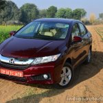 2014 Honda City drive front three quarter red