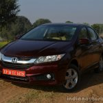 2014 Honda City drive front three quarters