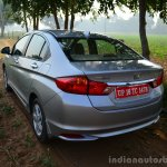 2014 Honda City drive rear quarter 3