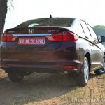 2014 Honda City drive rear quarter red 2