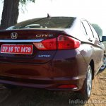 2014 Honda City drive rear quarter red