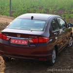 2014 Honda City drive rear quarter