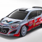 2014 Hyundai i20 WRC front quarter