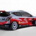 2014 Hyundai i20 WRC rear quarter