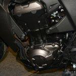2014 Kawasaki Z1000 India launch engine bay