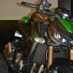 2014 Kawasaki Z1000 India launch front three quarters