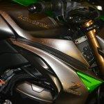 2014 Kawasaki Z1000 India launch fuel tank