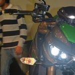 2014 Kawasaki Z1000 India launch headlamp illuminated