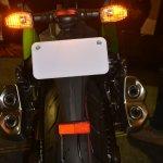 2014 Kawasaki Z1000 India launch taillight illuminated