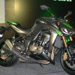 2014 Kawasaki Z1000 at the Indian launch
