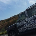 2014 Mahindra Scorpio Facelift spied IAB left side