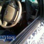 2014 Mahindra Scorpio facelift spyshot steering