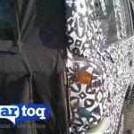 2014 Mahindra Scorpio facelift spyshot taillight 2