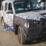 2014 Mahindra Scorpio facelift spyshot