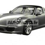 2014 Porsche 911 Targa leaked front three quarter