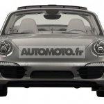 2014 Porsche 911 Targa leaked front