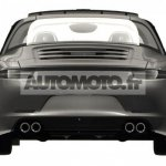 2014 Porsche 911 Targa leaked rear
