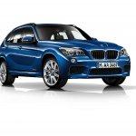 2015 BMW X1 front three quarters left press shot