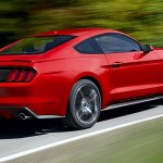 2015 Ford Mustang leaked press shot