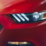2015 Ford Mustang official headlight