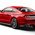 2015 Ford Mustang rear leaked press shot