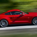 2015 Ford Mustang side leaked press shot