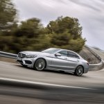 2015 Mercedes C-Class AMG Line Avant Garde in motion